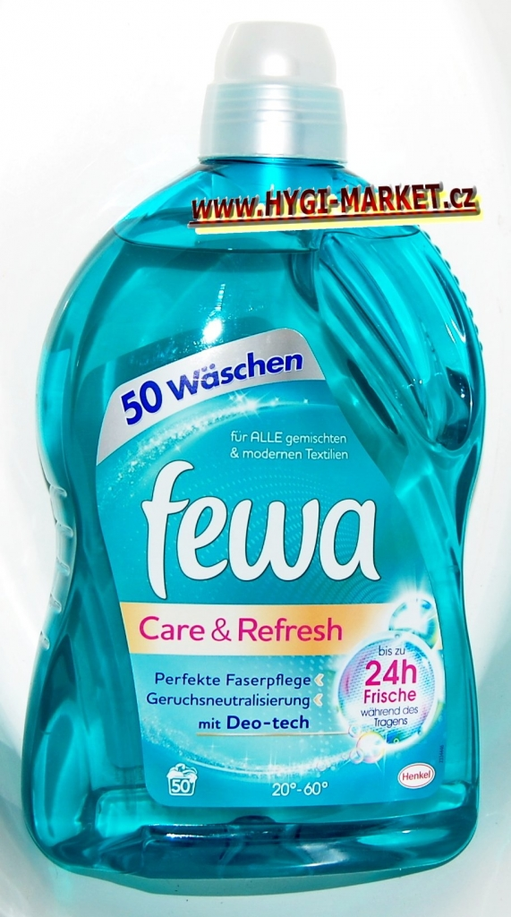 Fewa Care and Refresh 50 dávek mit Deo-tech s neutralizátorem pachu 3 litry