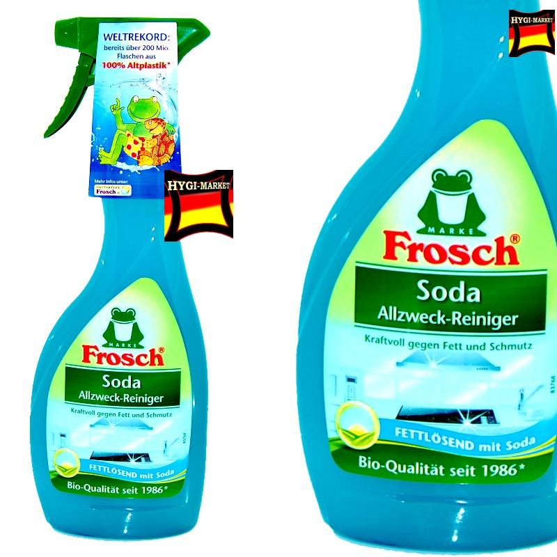 Soda Reiniger Frosch