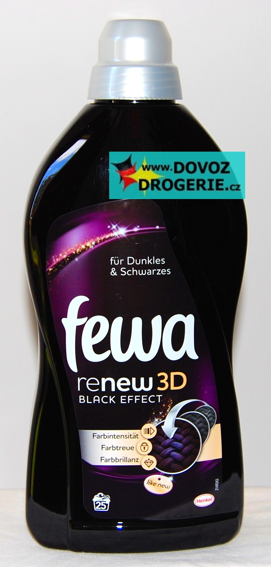 Fewa Black renew 3 D effect   1,5 litru