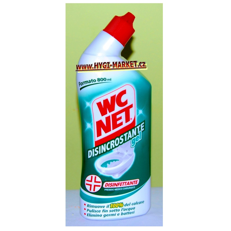 WC NET Disincrostante gel 800 ml proti vápenci