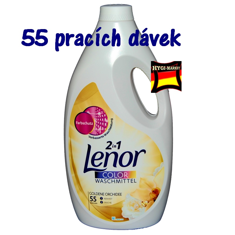 LENOR gel color Goldene Orchidee 55 dávek