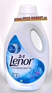 Lenor gel  2in1 Aprilfrisch 17 dávek 935 ml