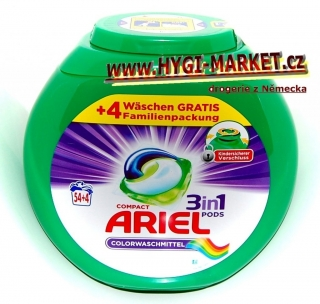 ARIEL 3in1 COLOR PODS 50 ks v plastové dóze