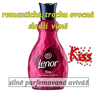 LENOR KISS aviváž 900 ml 36 dávek