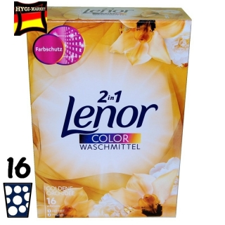 Lenor color prášek Goldene Orchidee 16 dávek 1,04 kg
