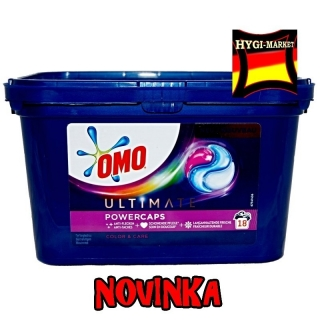 OMO Ultimate Color and Care powercaps 18 kapslí