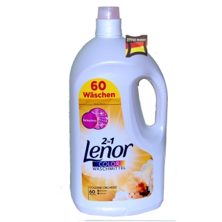 LENOR gel color Goldene Orchidee 55 dávek obr. je ilustr.