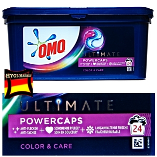 OMO ULTIMATE COLOR and Care powercaps 24 kapslí