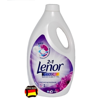 Lenor color gel Amethyst Blutentraum 2in1  50 dávek 2,75 litru