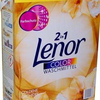 LENOR prášek Color Goldene Orchidee 100 dávek