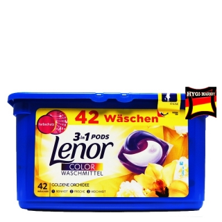 Lenor 3in1 Pods color Goldene Orchidee 42 ks