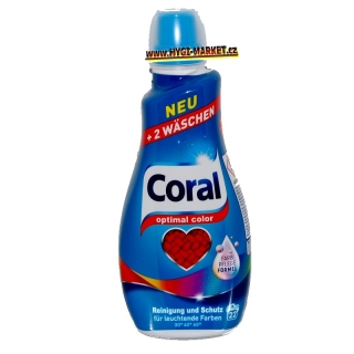 CORAL OPTIMAL COLOR Neu 22 dávek Farb Pflege Formel 1,1 litru