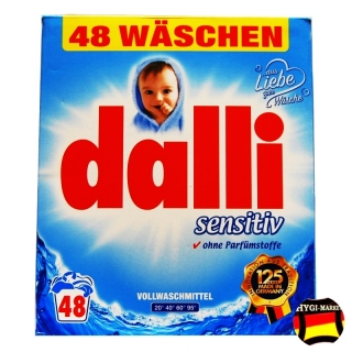 Dalli Sensitive 48 praní - Ohne