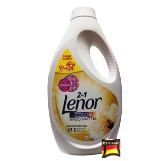 Lenor gel color Goldene Orchidee 24 dávek 1,32 litru