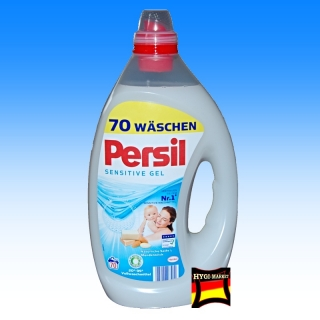 Persil SENSITIVE  gel - 70 pracích dávek 3,5 litru