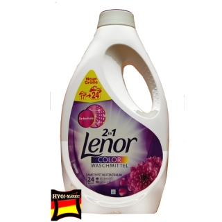 Lenor gel Amethyst Blutentraum 24 dávek  2in1 1,32 litru