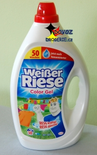 Weisser Riese Intensive color gel 50 praní 2,5 litru
