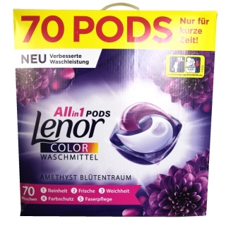 Lenor ALL in1 PODS AMETHYST BLUTENTRAUM COLOR 70 ks v sáčku