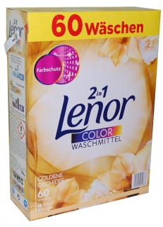 Lenor color prášek Goldene Orchidee 60 dávek