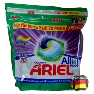Ariel kapsle Color plus ALLin1 PODS 70 ks
