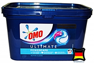 OMO ULTIMATE ACTIVE Clean powercaps 18 kapslí